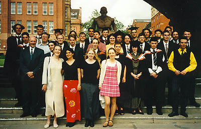 Class of 96, UMIST. Or something.